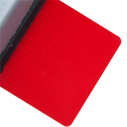 Acrylic Sheet 3mm 2157 Red Cast