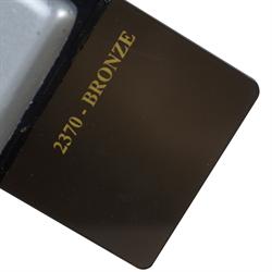 Acrylic Sheet 3mm 2370 Dark Bronze Cast