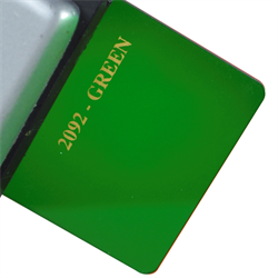 Acrylic Sheet 3mm 2092 Green Cast
