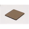 Additional Images for Acrylic Sheet 3mm 2412 Medium Bronze Cast