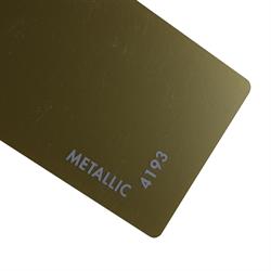 Acrylic Sheet 3mm Metallic IRO Gold