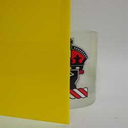 Acrylic Sheet 3mm 2037 Yellow Cast