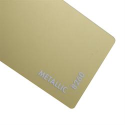 Acrylic Sheet 3mm Metallic Brass Matte