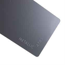 Acrylic Sheet 3mm Metallic IRO Aluminum
